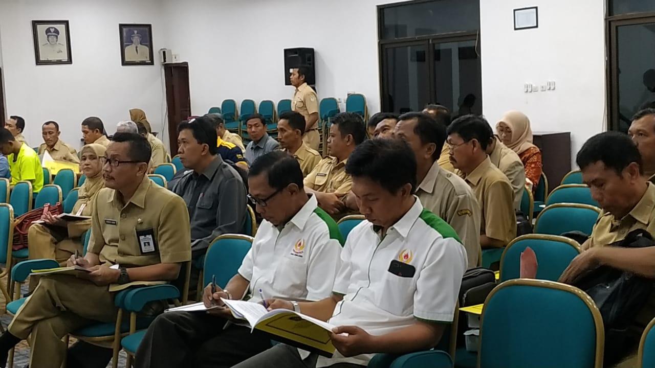 RAPAT KOORDINASI PERSIAPAN POPKAB III JENJANG PELAJAR SMP/Mts/SMA/SMK/MA se Kabupaten Lumajang tahun