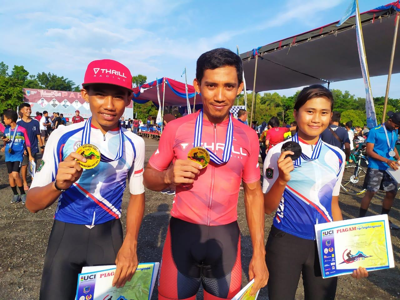 Kejurda & Open Nasional BAlap Sepeda LAhat Sumatera Selatan