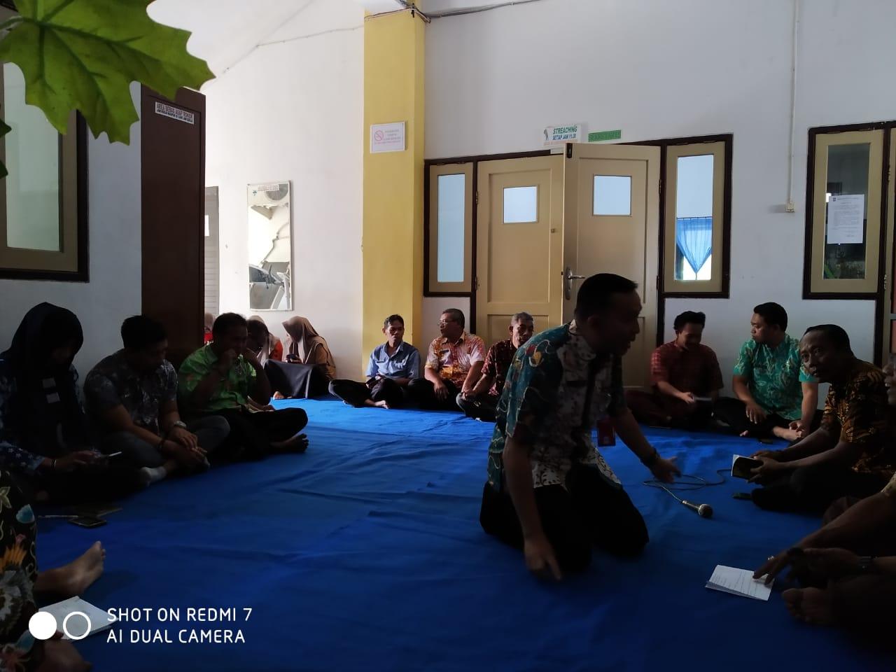 Pengajian Rutin Yasinan dilanjutkan dengan Rapat Internal Dispora